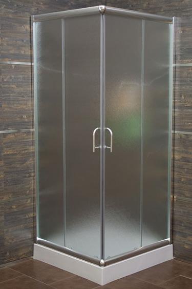 Box doccia italia box doccia quadrato cm 75x75 vetro serigrafato - Box doccia su misura milano ...