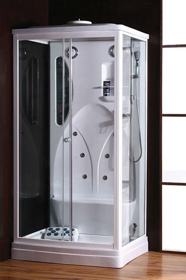 Box doccia italia cabina idromassaggio 6 getti cm 110x92 - Cabina doccia prezzo ...