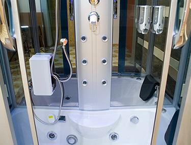 Box doccia Italia: Cabina idromassaggio con sauna + vasca idromassaggio cm 13...