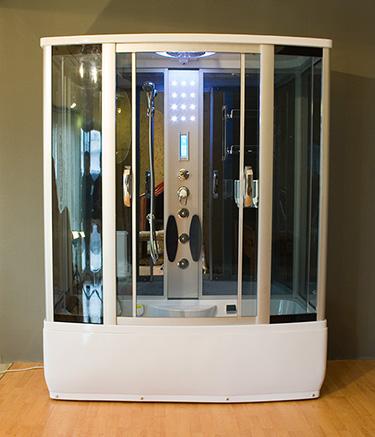 Box doccia italia cabina idromassaggio con sauna vasca - Vasca con cabina doccia prezzi ...