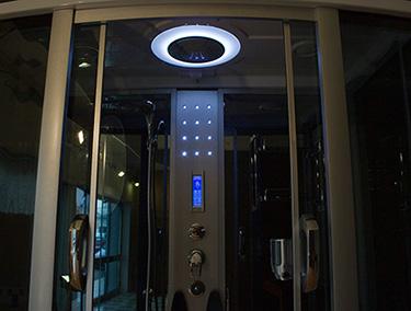 Box doccia Italia: Cabina idromassaggio con sauna + vasca idromassaggio cm 17...
