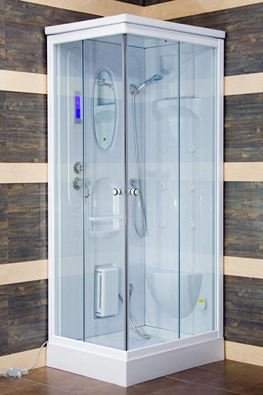 Box doccia italia cabina idromassaggio 6 getti cm 70x90 for Box doccia con idromassaggio