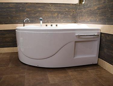 Vasca Da Bagno Ad Angolo : Box doccia italia vasca semicircolare ad angolo cm h