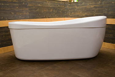 Box doccia italia vasca da bagno da centro stanza cm 175x85 - Box vasca da bagno ...