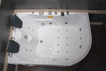 Box doccia italia vasca idromassaggio cm 170x120 h 65 - Vasche da bagno con doccia incorporata prezzi ...